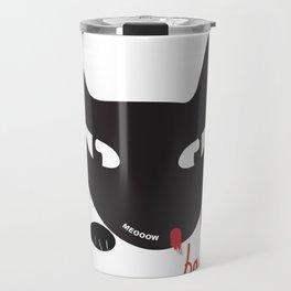 Bad Cat Bad Travel Mug
