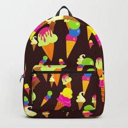 Ice Cream Background Design Backpack