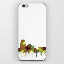 Durham, NC Skyline SG - Safari Buff iPhone Skin