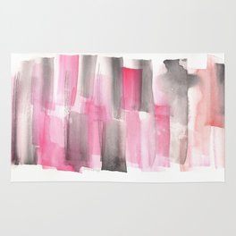 [161228] 27. Abstract Watercolour Color Study Rug