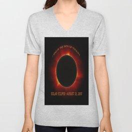 Solar Eclipse Unisex V-Neck
