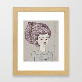 Tengo tanto sentimiento Framed Art Print