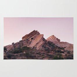 Desert Landscape at Magic Hour Rug