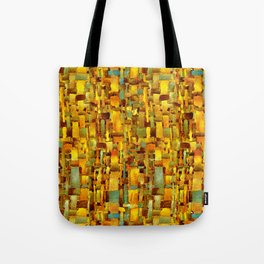 Gold and bronze Tote Bag