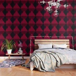 Maroon Hills Wallpaper