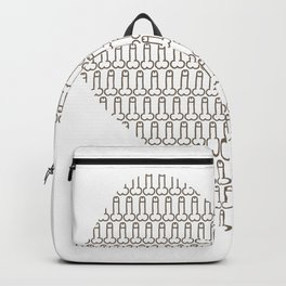 Penis at heart Backpack