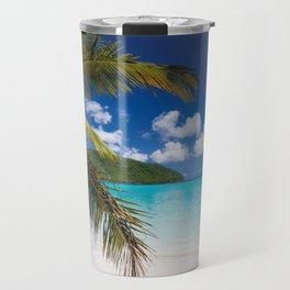 Tropical Shore Travel Mug