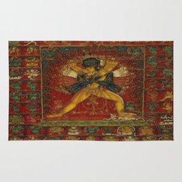 Buddhist Deity Kalachakra Rug
