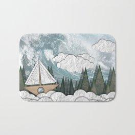 Paper Boat Bath Mat