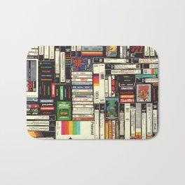 Cassettes, VHS & Games Bath Mat