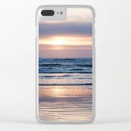 Beach Glow Clear iPhone Case
