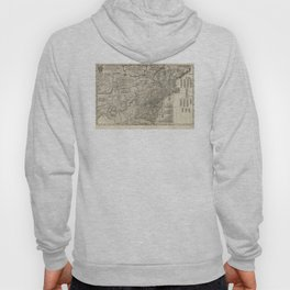 Map of the middle British colonies in North America - 1776 Hoody