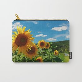 Sunflowers In Sunflower Field Carry-All Pouch