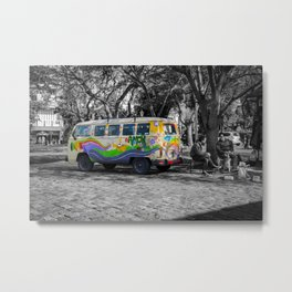 Truck of love, Argentina, Buenos aires Metal Print