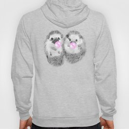 Playful Twins Hedgehog Hoody
