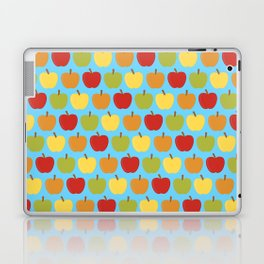 Apples Over Blue Laptop & iPad Skin