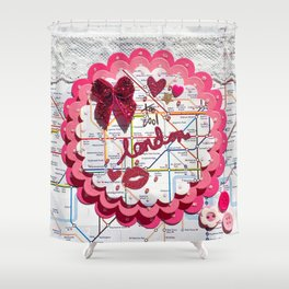 Too Cool London Shower Curtain