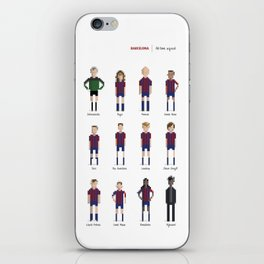 Barcelona - All-time squad iPhone Skin