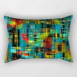 Art splash brush strokes paint abstract seamless pattern print background Rectangular Pillow