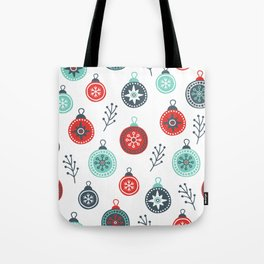 Winter pattern Tote Bag