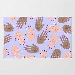 hands boucherouite Rug