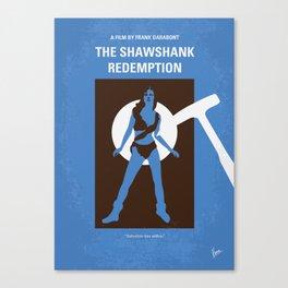 No246 My THE SHAWSHANK REDEMPTION mmp Canvas Print