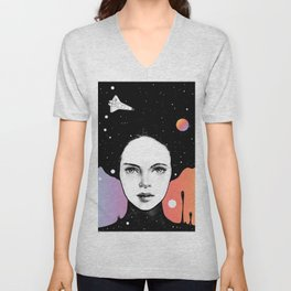 If You Were My Universe Unisex V-Neck