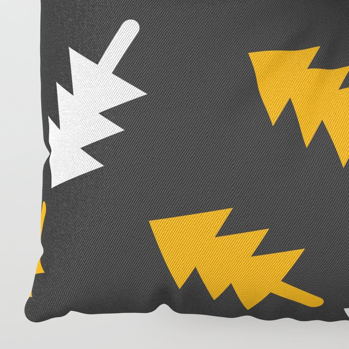 Christmas tree pattern Floor Pillow