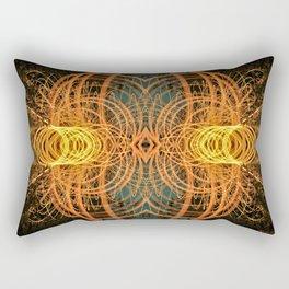 Alienate - color Rectangular Pillow