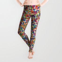 Rainbow Sprinkles Leggings