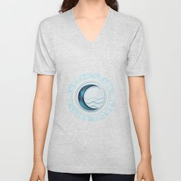 Water Tribe Chief Unisex V-Neck