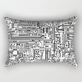 Circuit Board Rectangular Pillow