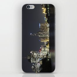 Brisbane by night iPhone Skin