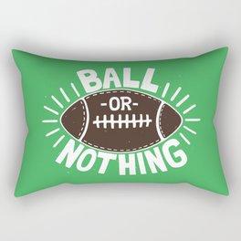 B\LL OR NOTH/NG Rectangular Pillow