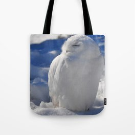Snowy in the Snow by Teresa Thompson Tote Bag