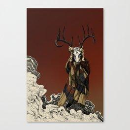 Red Shaman Canvas Print