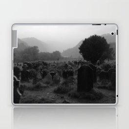Foggy Graveyard... | Halloween Art | Laptop & iPad Skin