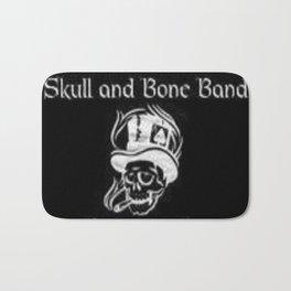 Skull and Bone Band 2 Bath Mat