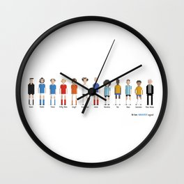 All-time Greatest Squad Wall Clock