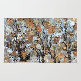 A Winter Collage Rug