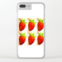 Berry Berry 6 Clear iPhone Case