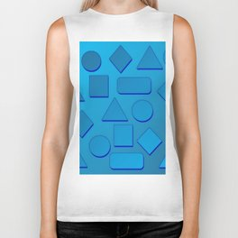 0807 Play with gradient and forms 2 ... Biker Tank