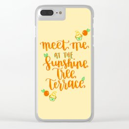 Dole Whip Days Clear iPhone Case