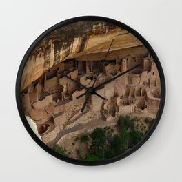 Cliff Palace Mesa Verde Wall Clock