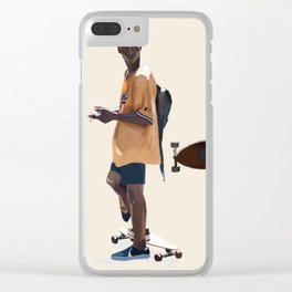 Adonis Bosso Looks Clear iPhone Case