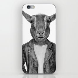 Don Pedro Old Goats Are Cool iPhone Skin