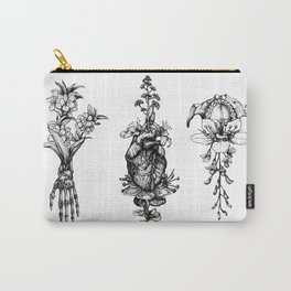 In Bloom - herbarium Carry-All Pouch