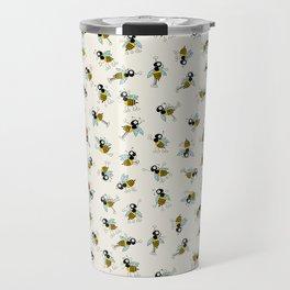 Dancing bee pyjama pattern Travel Mug