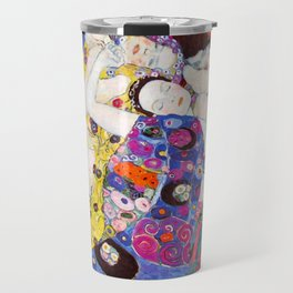 "Gustav Klimt ""Die Jungfrauen (The Virgins)"" Travel Mug"