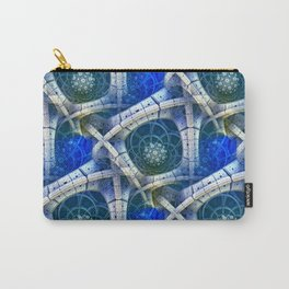 3D - abstraction -e- Carry-All Pouch